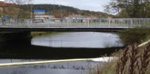 Kombinationsläns för strömmande vatten